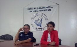 Claudia Bustamante junto a Pablo Cuevas. LA PRENSA/E. Romero